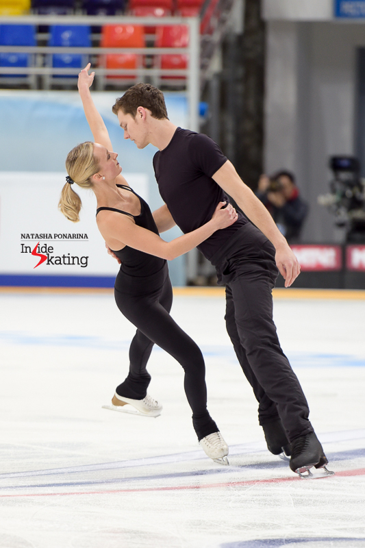 Another debut on the Grand Prix circuit: Canada's Camille Ruest and Andrew Wolfe