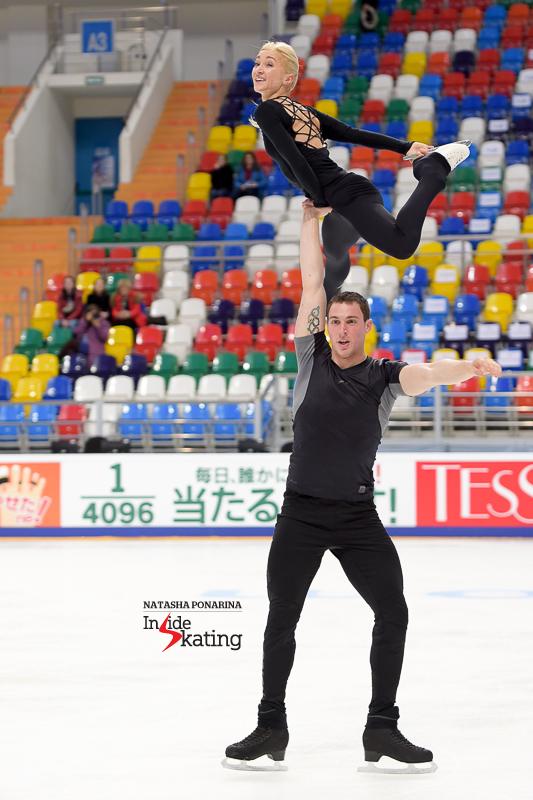 Pairs practice 2016 Rostelecom Cup (20) Aliona Bruno