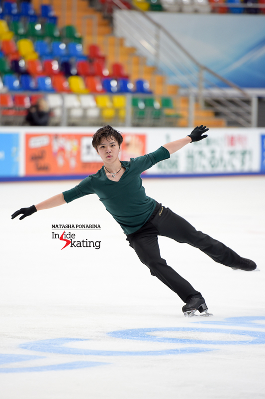Practice session at 2016 Rostelecom Cup (4) Shoma Uno