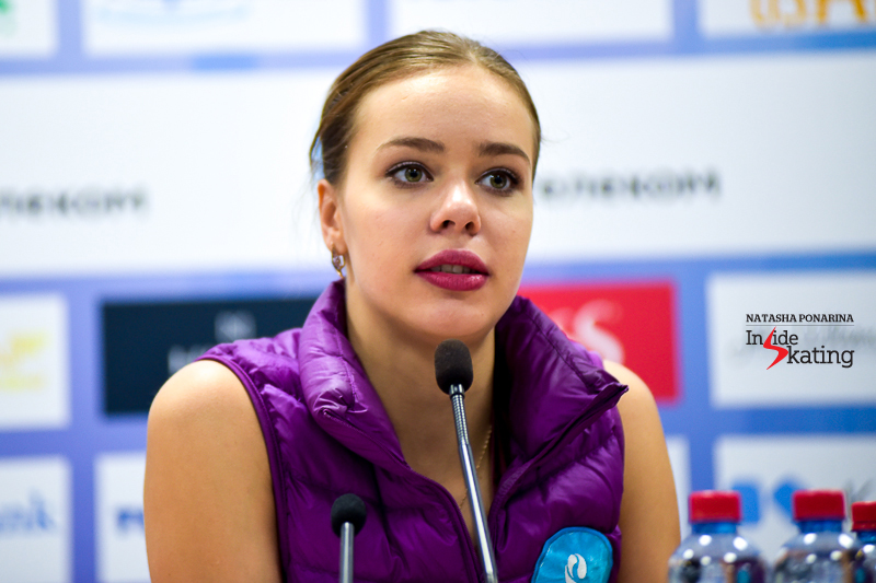 1 Anna Pogorilaya press conference after FS 2016 Rostelecom Cup