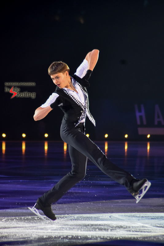 Deniss Vasiljevs was one of Stéphane Lambiel's guests (and coups de coeur) at Ice Legends, in late April