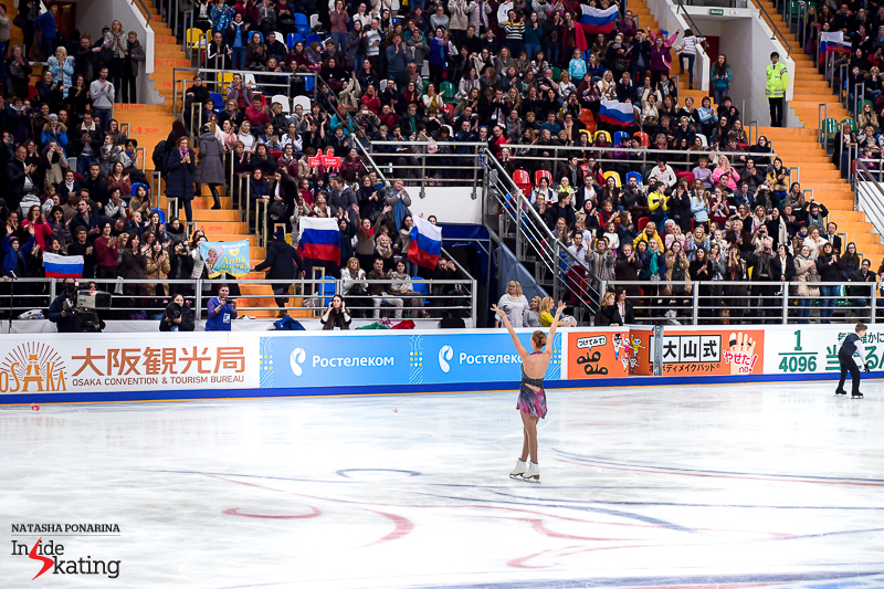 Standing ovation for Anna Pogorilaya in Moscow, and a so well deserved gold medal at the end of the night