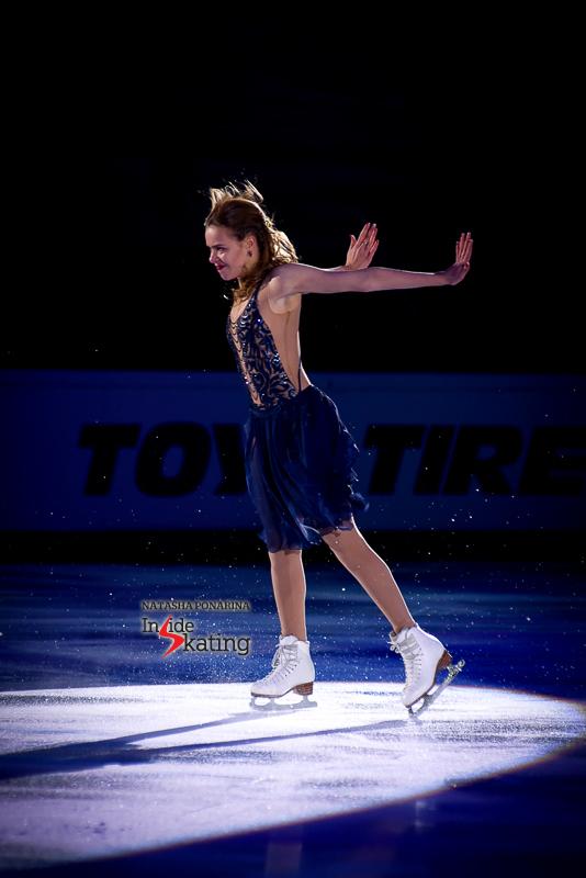 Anna Pogorilaya exhibition 2016 Rostelecom Cup (5)