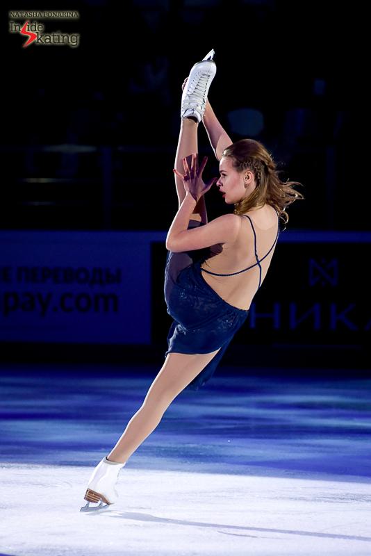 Anna Pogorilaya exhibition 2016 Rostelecom Cup (6)