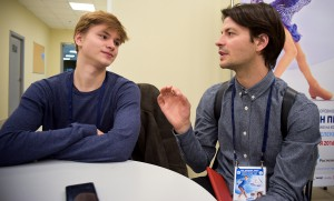 """Captain Zebra"" and ""philosopher Vasiljevs"" – a story told by Stéphane Lambiel and Deniss Vasiljevs"