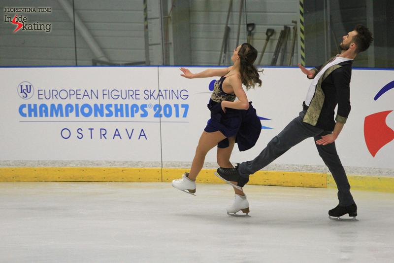 3 Gabriella Papadakis Guillaume Cizeron SD practice 2017 Europeans