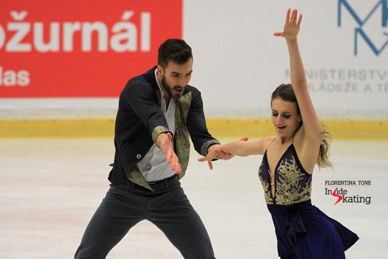 4 Gabriella Papadakis Guillaume Cizeron SD practice 2017 Europeans