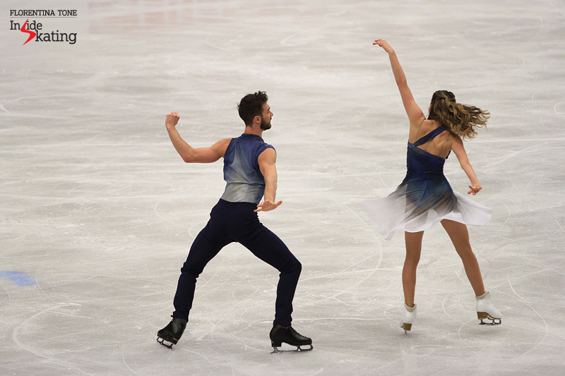 6 Gabriella Papadakis Guillaume Cizeron warm up FD 2017 Europeans