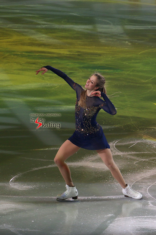 Carolina Kostner exhibition 2017 Europeans (4)