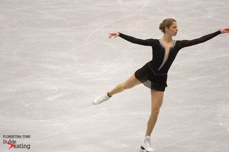 Carolina Kostner warm-up FS 2017 Europeans (3)