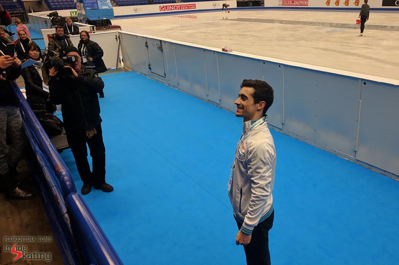 Javier Fernandez on January 24 in Ostravar Arena (1)