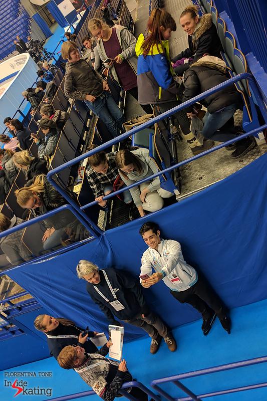 Javier Fernandez on January 24 in Ostravar Arena (5)