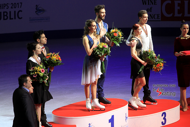 At 21 and 22, Gabriella Papadakis and Guillaume Cizeron are three-time European champions