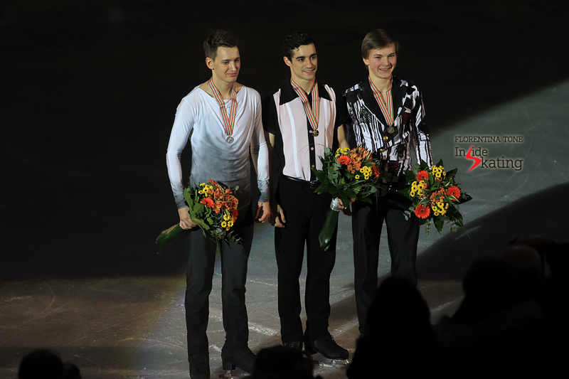Medal ceremony men 2017 Europeans (2)