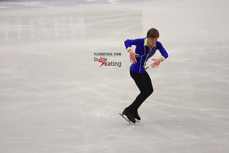 Mikhail Kolyada SP 2017 Europeans