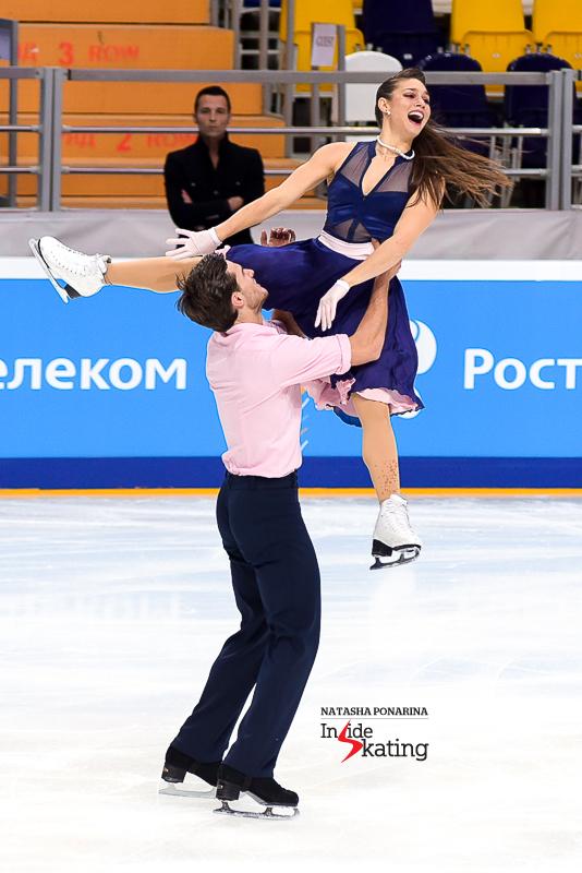 10 Laurence Fournier Beaudry Nikolaj Sorensen SD 2016 Rostelecom Cup