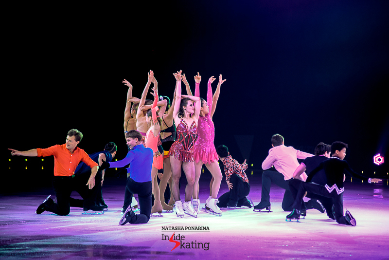 "The magnificent cast of Ice Legends 2016 – and Stéphane will admit, his eyes glowing: ""I told them right after the show: «You know what? You're all invited for next year!»"""