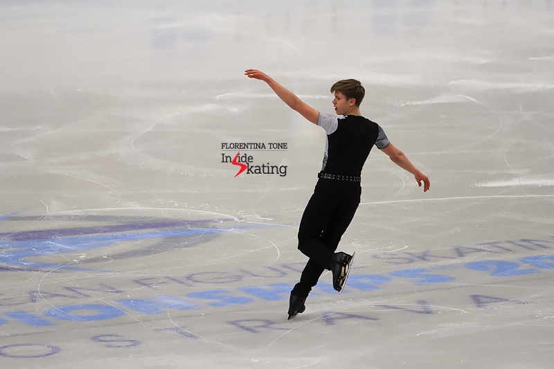17 Deniss Vasiljevs SP 2017 Europeans
