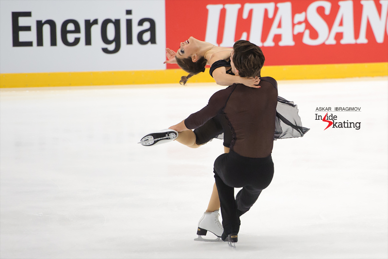 19 Laurence Fournier Beaudry and Nikolaj Sorensen FD 2016 Finlandia Trophy
