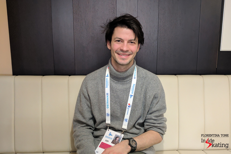 2 Stephane Lambiel interview for Inside Skating 2017 Europeans