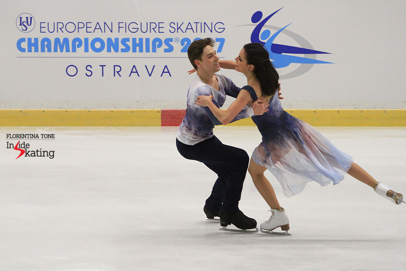There is this huge sense of relief, joy in this hold – one that has you thinking Sara and Kirill's free dance this season is actually a portrayal of their journey so far