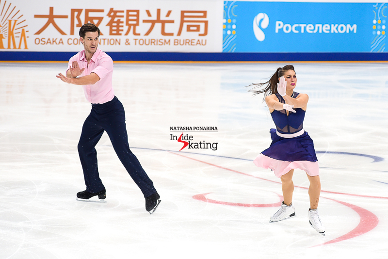 Laurence and Nikolaj at 2016 Rostelecom Cup in Moscow