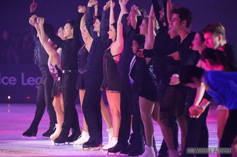 The whole cast of Ice Legends 2014 – this was the beginning of a magical story