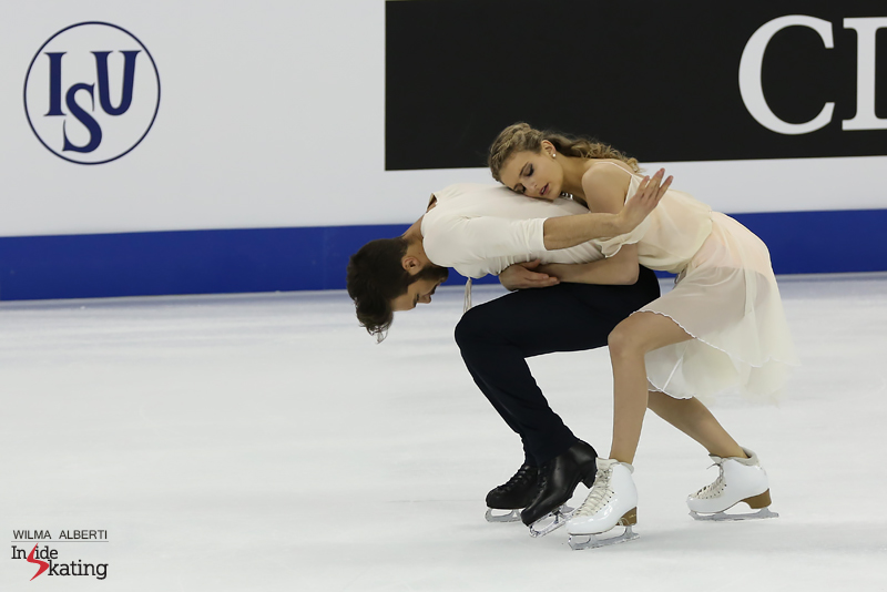 Putting a spell on the figure skating world with their Mozart free dance at 2015 World Championships in Shanghai – and instilling hope in every other dancing team out there