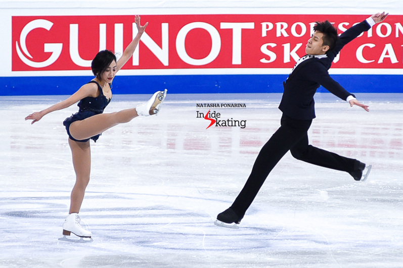 2 Wenjing Sui and Cong Han SP 2017 Worlds Helsinki