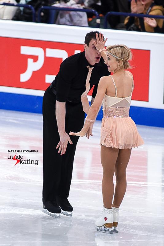Aliona Savchenko and Bruno Massot SP 2017 Worlds Helsinki (2)