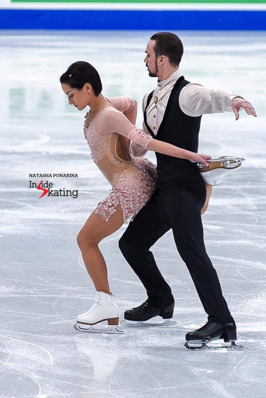 Ksenia Stolbova and Fedor Klimov SP 2017 Worlds Helsinki (1)
