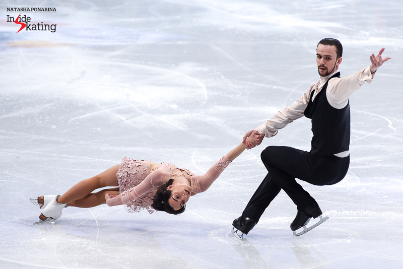 Ksenia Stolbova and Fedor Klimov SP 2017 Worlds Helsinki (2)