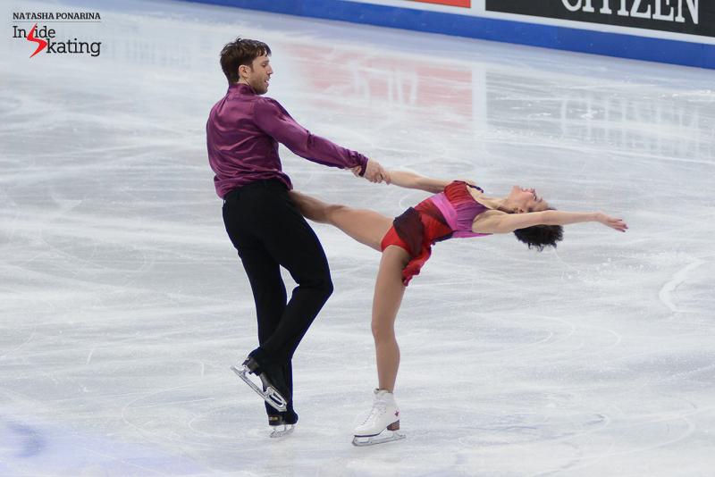 Liubov Ilyushechkina and Dylan Moscovitch FS 2017 Worlds Helsinki (2)