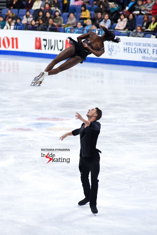 Vanessa James and Morgan Cipres SP 2017 Worlds Helsinki (2)