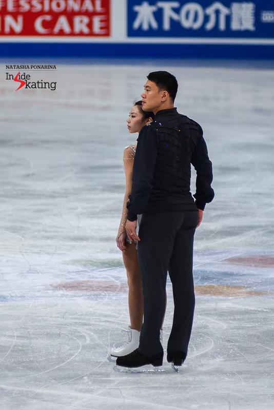 Xiaoyu Yu and Hao Zhang FS 2017 Worlds Helsinki (1)