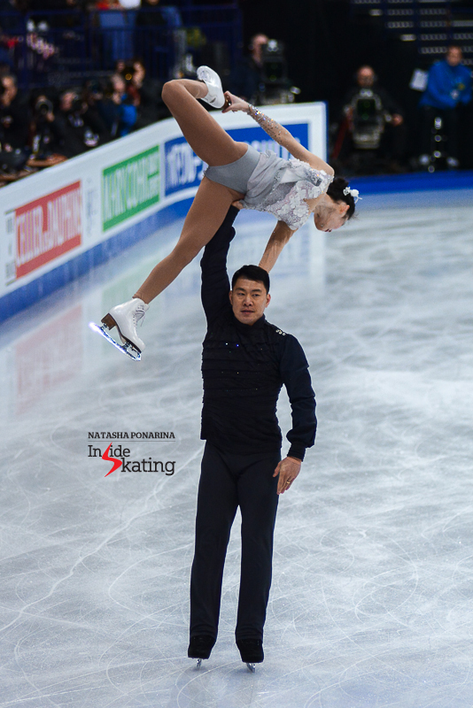 Xiaoyu Yu and Hao Zhang FS 2017 Worlds Helsinki (3)