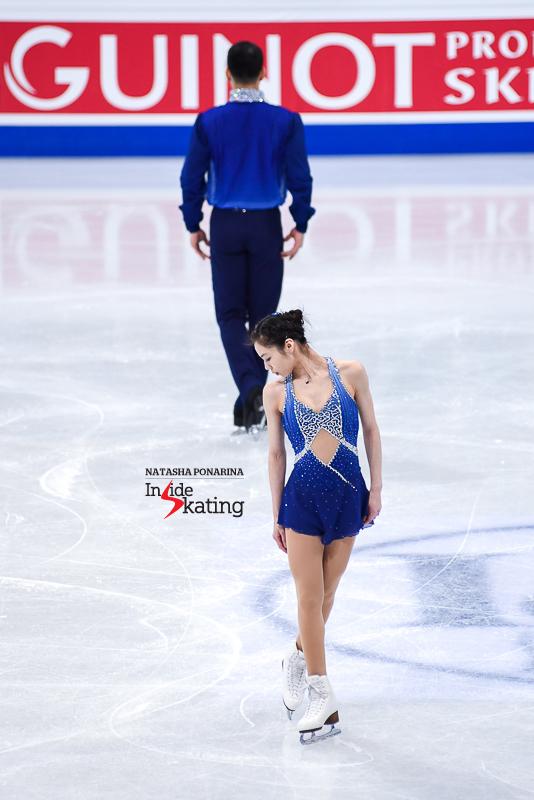 Xiaoyu Yu and Hao Zhang SP 2017 Worlds Helsinki (1)
