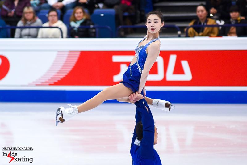 Xiaoyu Yu and Hao Zhang SP 2017 Worlds Helsinki (3)