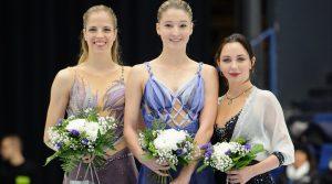 2017 Finlandia Trophy: beauty, strength, elegance on the ladies' podium in Espoo
