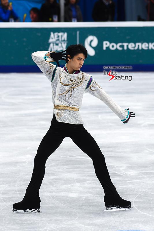 Юдзуру Ханю / Yuzuru HANYU JPN (пресса) - Страница 5 Yuzuru-Hanyu-FS-Seimei-2017-Rostelecom-Cup-6