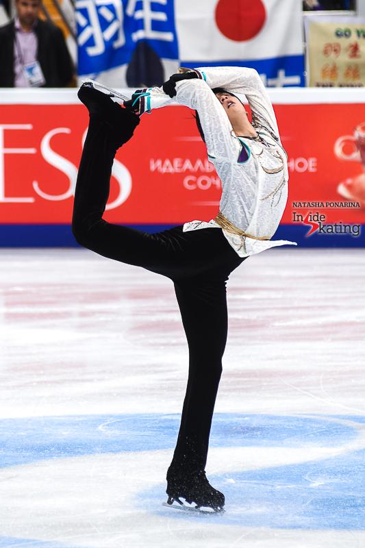 Юдзуру Ханю / Yuzuru HANYU JPN (пресса) - Страница 5 Yuzuru-Hanyu-FS-Seimei-2017-Rostelecom-Cup-7
