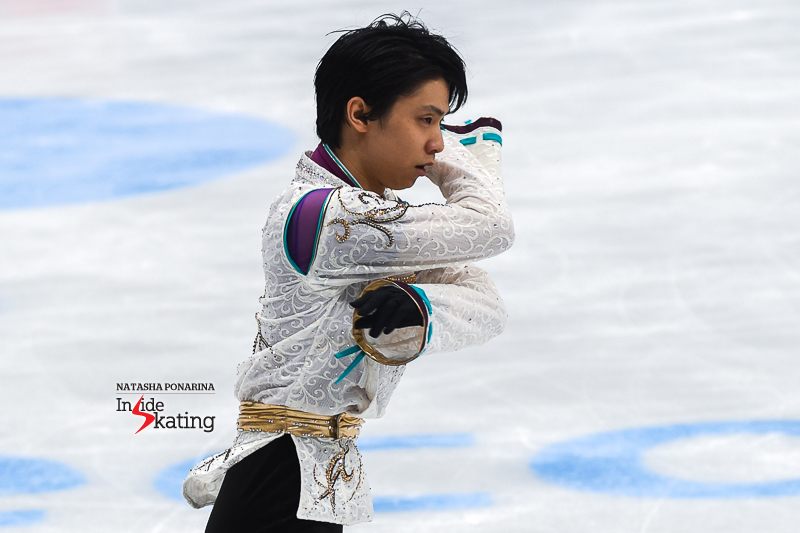 Юдзуру Ханю / Yuzuru HANYU JPN (пресса) - Страница 5 Yuzuru-Hanyu-FS-Seimei-2017-Rostelecom-Cup-9