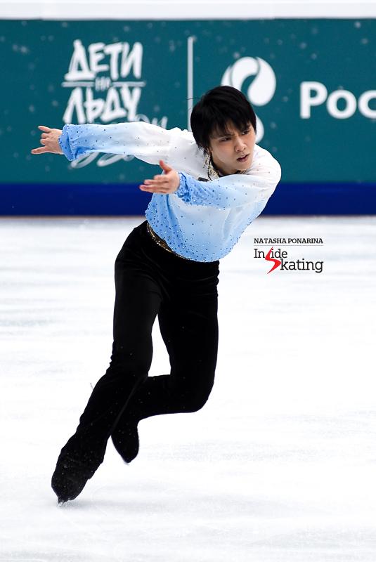 Юдзуру Ханю / Yuzuru HANYU JPN (пресса) - Страница 5 Yuzuru-Hanyu-SP-Chopin-2017-Rostelecom-Cup-5