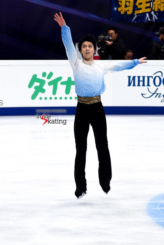 Юдзуру Ханю / Yuzuru HANYU JPN (пресса) - Страница 5 Yuzuru-Hanyu-SP-Chopin-2017-Rostelecom-Cup-7