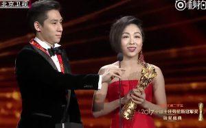 China Laureus Awards. Best coach: Hongbo Zhao, best duo: Wenjing Sui & Cong Han