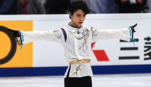 Yuzuru Hanyu in Moscow: start of his road to PyeongChang 2018