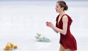 "A journey through Carolina Kostner's emotions at 2018 Worlds: ""4th place is bitter, but it doesn't define who I am, it doesn't define my career"""