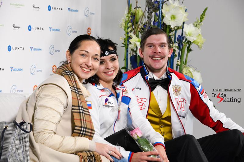 Challenger (6) - Finlandia Trophy. Oct 11 - 13, 2019. Espoo /FIN      - Страница 15 Betina-Popova-and-Sergey-Mozgov-RD-2019-Finlandia-Trophy-4