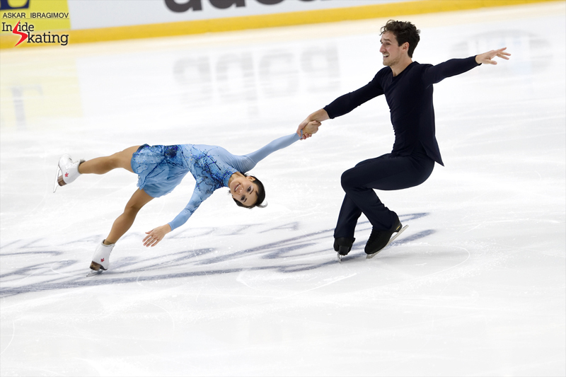 Challenger (6) - Finlandia Trophy. Oct 11 - 13, 2019. Espoo /FIN      - Страница 15 Liubov-Ilyushechkina-and-Charlie-Bilodeau-FS-2019-Finlandia-Trophy-3