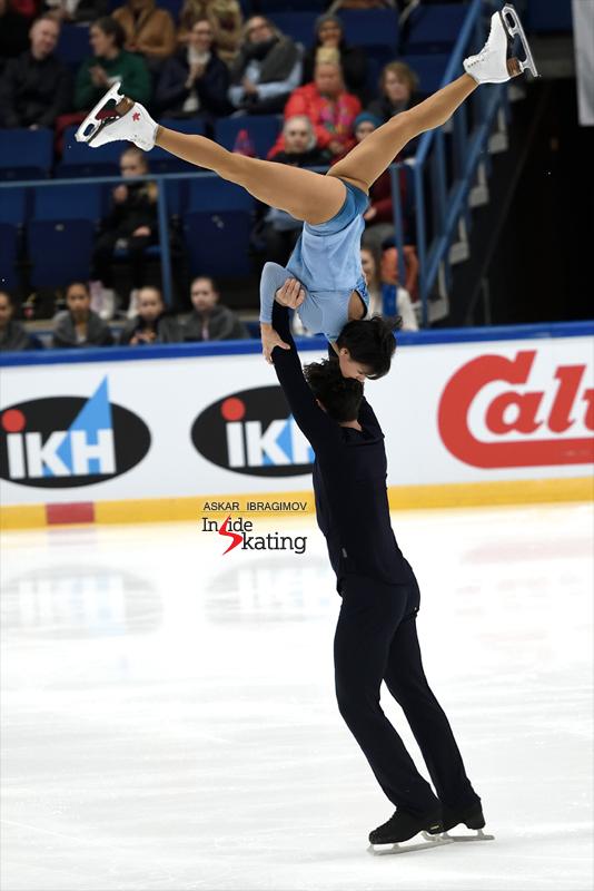 Challenger (6) - Finlandia Trophy. Oct 11 - 13, 2019. Espoo /FIN      - Страница 15 Liubov-Ilyushechkina-and-Charlie-Bilodeau-FS-2019-Finlandia-Trophy-4